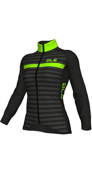 Alé Cycling Solid Riviera Sykkeljakke Dame Grønn/Svart